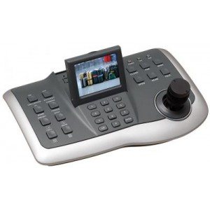"PTZ (Pan/Tilt/Zoom) Controller with 3 Axis Joy-stick, 2.5"" TFT-LCD Screen Pelco-D"