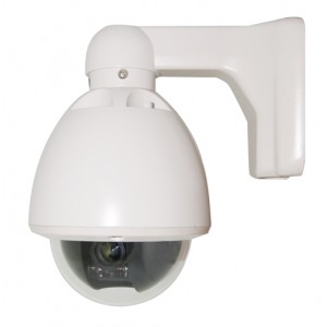 Mini Vandal Proof sony 480TVL Speed Dome PTZ Camera IP66 10x Zoom