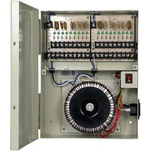 18ch 10A AC24 Fuse free ptc cctv power box UL listed