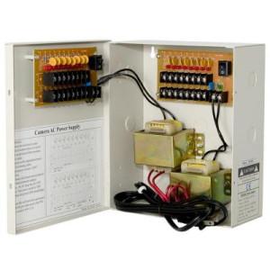 18ch 5A AC24 Fuse free ptc cctv power box