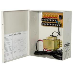 9ch 2.5A AC24 Fuse free ptc cctv power box