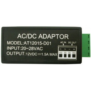 Power converter 24V AC to 12V DC upto 1500mA