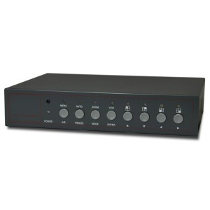 4CH CCTV Multiplexer Quad Video Processor with Loop output , remote
