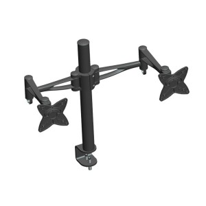 3 Way Adjustable Tilting Dual Desk Mount Bracket for LCD LED (Max 33Lbs, 10~23 inch)