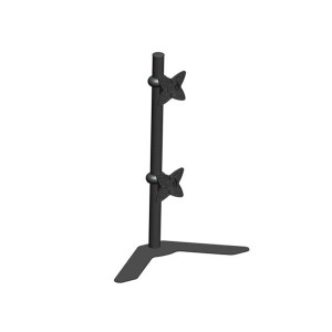 Adjustable Tilting DUAL Desk Mount Bracket for LCD LED (Max 33Lbs 10~23 inch)