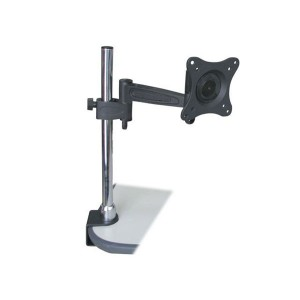 Adjustable Tilting Desk Mount Bracket for LCD LED (Max 33Lbs, 10~23 inch)