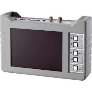 Portable Camera  PTZ  VGA Tester with 5.6in Large LCD Screen