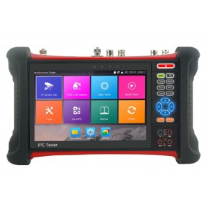 "All in one Multi-functions CCTV tester Monitor 7"" Touch Screen TVI, AHD,HD SDI, EX SDI, IP"