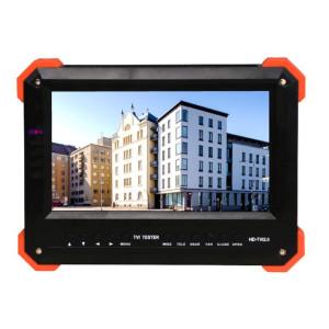 """HD-TVI CCTV Test Monitor 7"""" LCD Supports HD TVI, CVBS , HDMI , VGA, CVBS , External Power 12V Power"""
