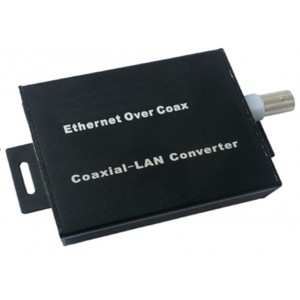 Long Distance active single channel ethernet over coaxial converter EOC ( Pair )