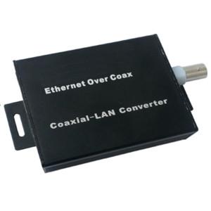 Long Distance active single channel ethernet over coaxial converter EOC ( Pair )
