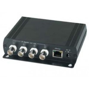 4CH IP extender over coax cable with 5 port ethernet switch kit package