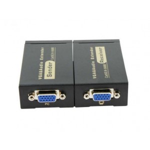 Cat5 to VGA Converter Extender Upto 300FT