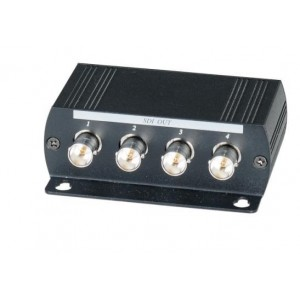 1 Input 4 Output HD-SDI Distribution Video Amplifier HD signal distance total up to 1300Feet