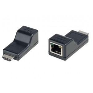 Mini Size HDMI Extender over Single CAT5 cable Special design for CCTV DVR NVR HDMI Signal