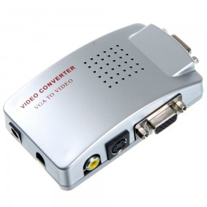 VGA  to BNC high resolution video Converter Single Output