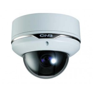 CNB VBT-24Z10F Zoom Camera Vandal Proof Dome type 500TVL 100x Zoom Low Light, ICR, Dual Power