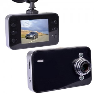 "720P HD Dash Cam with Night vision, 2.4"" LCD"