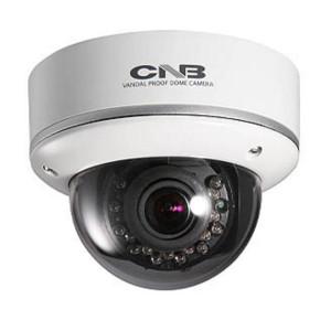 CNB LCM-24VF Outdoor Dome Camera Intelligent IR 600TVL 18 Leds Vandal-Resitant ICR 2.8-10.5mm Dual Power