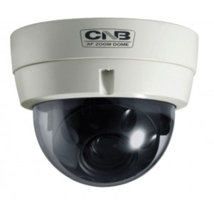 CNB VZD127NL Vandal Proof dome High resolution 192x (16X Optical, 12X Digital) zoom camera dual power