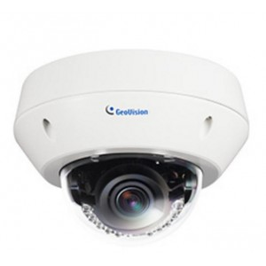 Geovision 5MP IR Vandal Proof IP Dome Camera GV-EVD5100 H264 3-9mm Vari focal Lens