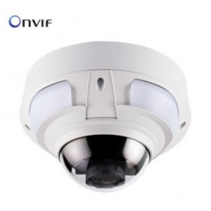 Geovision 5MP H265 IR Vandal Proof IP Dome Camera GV-VD5711 4-8mm motorized Lens