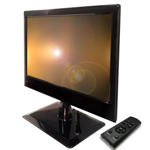 "Special BNC / HDMI / VGA 18.5"" LED CCTV Monitor with Remote Control"