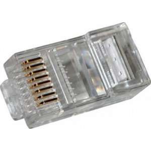 High Quality RJ45 8 Conductor 8 Position Modular Plug 100pcs